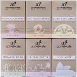 Art Naturals 6 Piece Soap Bar Set 4.0 oz Each | 100% Natural & Infused with J... - Chickadee Solutions - 1