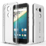 Nexus 5X Case PLESON [Tou] LG Nexus 5X Clear Case Cover Crystal Clear/Dotted ... - Chickadee Solutions - 1