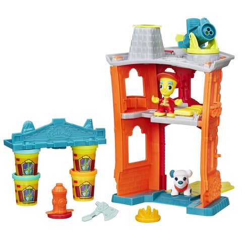 Play-Doh Town Firehouse Standard Packaging - Chickadee Solutions - 1