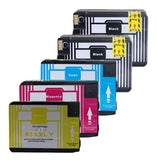 ColorJoy Chipped Ink Cartridges HP 932XL 933XL for HP Officejet 6100 6600 670... - Chickadee Solutions - 1