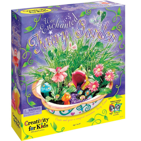 Enchanted Fairy Garden Kit Faber Castell - Chickadee Solutions - 1