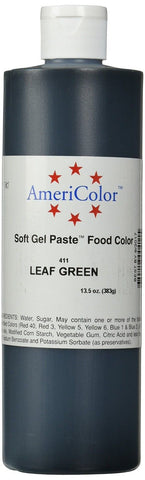 Americolor Soft Gel Paste Food Color 13.5-Ounce Leaf Green - Chickadee Solutions - 1