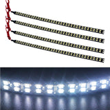 EverBrightt 4-Pack Cool White 30CM 3528 72SMD Flexible Waterproof LED Strip L... - Chickadee Solutions - 1