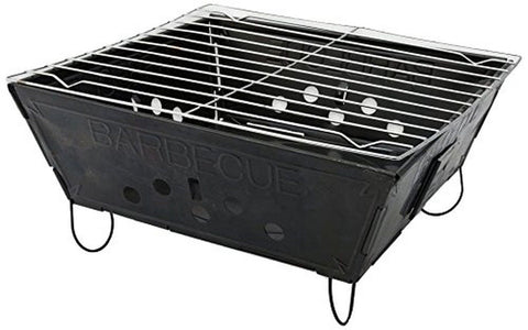SE Grill - Portable Folding Barbeque Closed Size 9.5x9.5x3.8in. - Chickadee Solutions