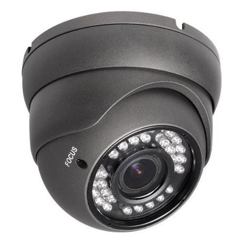 R-TECH RVD70B-HD 1000TVL Dome Security Camera Dark Gray - Outdoor - Night Vis... - Chickadee Solutions - 1