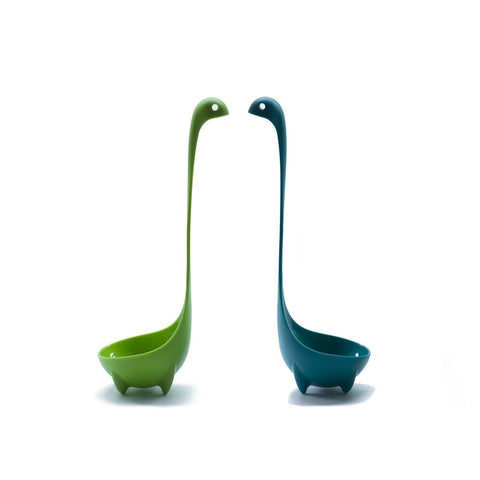 High Quality Nessie Soup Ladle 2 Spoon Set for Serving Gravy Sauce and More. ... - Chickadee Solutions - 1