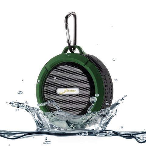 Elivebuy 5 Watt Driver Portable Waterproof Bluetooth 3.0 Speaker Rugged Wirel... - Chickadee Solutions - 1