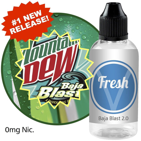 #1 New Release - Baja Blast 2.0 - Vapor - 60 ml (Free Shipping) - Chickadee Solutions - 1