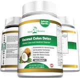 Coconut Colon Detox Supplement Super Formula for Cleanse and Weight Loss - Be... - Chickadee Solutions - 1