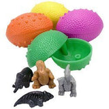 Dinosaurs Eggs with Mini Toy Dinosaur Figures Inside - 36 Per Order - Great f... - Chickadee Solutions