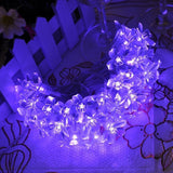 Wedna 40 LEDs 13.7ft Battery Peach Blossom Fairy String Lights for Christmas ... - Chickadee Solutions - 1