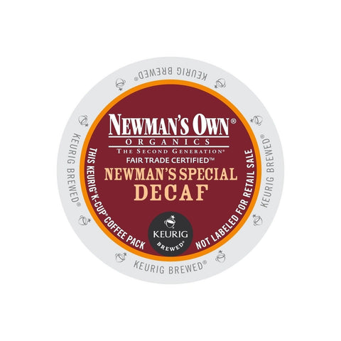 Newman's Own Organics Newman's Special Decaf Keurig K-Cups 72 Count - Chickadee Solutions - 1