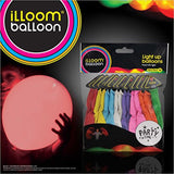 1 X illooms LED Light up Balloons 15 Mixed color Party Pack - Chickadee Solutions - 1