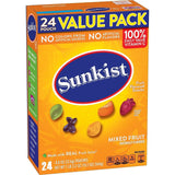 Sunkist Fruit Snacks Value Pack Mixed Fruit 19.2 Ounce 24 Count (Pack of 3) - Chickadee Solutions - 1