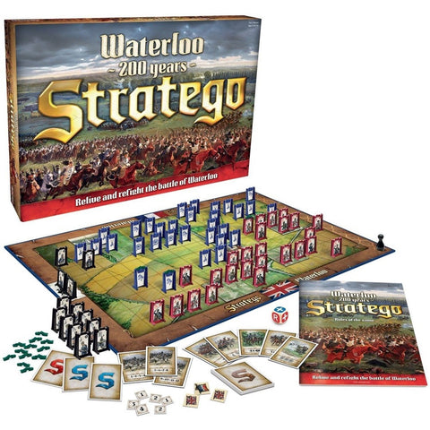 Stratego Waterloo Board Game - Chickadee Solutions - 1