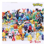 Pokemon Action figure 24 pcs random Minifigures Pikachu x1 Cake Topper - Chickadee Solutions - 1