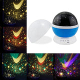 Romantic Rotating Projector Cosmos Astrostar Astro Star Sky Moon Night Lighti... - Chickadee Solutions - 1
