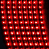 XT AUTO 8Pcs 30cm Car Truck Flexible Waterproof LED Light Strip Red 8-pack - Chickadee Solutions - 1