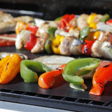 BBQ Grill Mat: Lifetime Guarantee 2 Highest Quality Non-Stick PFOA-Free Reusa... - Chickadee Solutions - 1