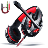 Headset AOSO G9000 Gaming Headsets with Microphone for PC PS4 Laptop 3.5mm US... - Chickadee Solutions - 1
