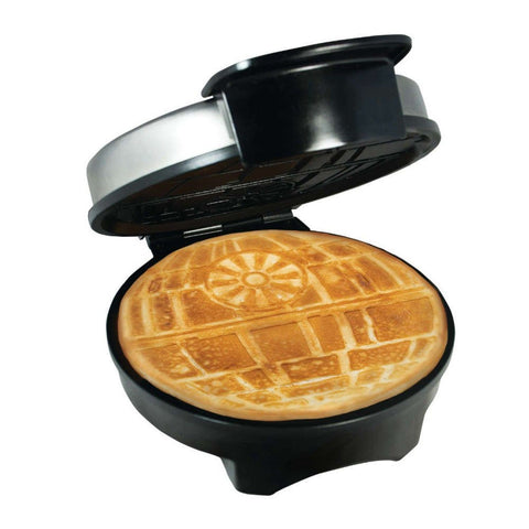 Exclusive Star Wars Death Star Waffle Maker - Officially Licensed Waffle Iron - Chickadee Solutions - 1