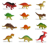 "Star Toys 12 Pack of DINOSAUR TOYS 5"" - 7"" Inch Large Deluxe Figure Set - As... - Chickadee Solutions - 1"