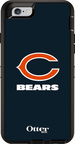 OtterBox 77-52153 Defender Case for iPhone 6/6s - Retail Packaging NFL BEARS - Chickadee Solutions - 1