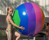 Prextex Giant 42'' Inflatable Beach Ball with Mesh Beach Bag ( 2 Pack ) - Chickadee Solutions - 1