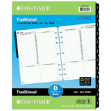 Day-Timer Daily Planner Refill 2016 One Page Per Day Traditional Folio Size 8... - Chickadee Solutions - 1