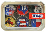 Kate Grenier Designs Texas Bottle Cap Magnets - Chickadee Solutions