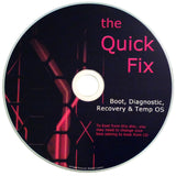 The QUICK FIX PC Operating System Boots any Computer - Windows/OSX/Linux [201... - Chickadee Solutions - 1