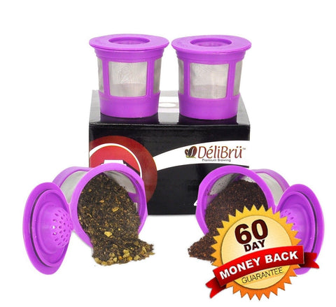 *Just Launched* DliBr 4Pack Reusable K-Cups for Keurig 2.0 Machines. Compatib... - Chickadee Solutions - 1