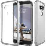 LG G5 Case Caseology [Skyfall Series] Scratch-Resistant Clear back Cover [Sil... - Chickadee Solutions - 1