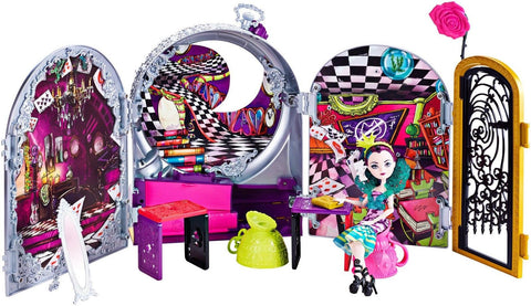 Ever After High Way Too Wonderland High and Raven Queen Playset - Chickadee Solutions - 1