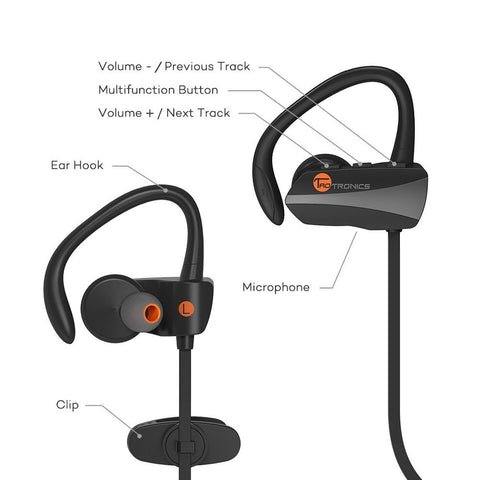 bluetooth earbuds taotronics wireless sweatproof sports headphones bluetooth chickadee. Black Bedroom Furniture Sets. Home Design Ideas