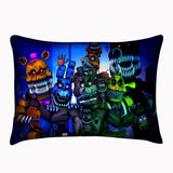 Custom Five Nights at Freddy's Pillowcase Zippered Cover Both Sides Pillowsli... - Chickadee Solutions