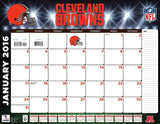 "Turner Cleveland Browns 2016 Desk Calendar January-December 2016 22 x 17"" (80... - Chickadee Solutions"