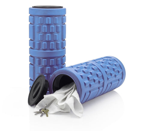#1 Rated Foam Roller with Removable End Caps For Storage Blue - Chickadee Solutions - 1