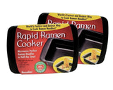 Rapid Ramen Cooker - Microwave Instant Ramen Noodles in 3 Minutes (Pack of 2)... - Chickadee Solutions - 1