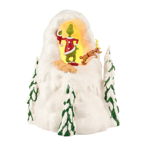 Department 56 Grinch Villages Mount Crumpet Lit House 8.5-Inch - Chickadee Solutions