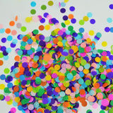Confetti Circles 1/2 Inch Small 10 Different Colors 3400 Circles - Chickadee Solutions - 1
