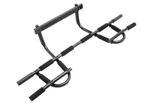 ProSource Multi-Grip Chin-Up/Pull-Up Bar Heavy Duty Doorway Trainer for Home ... - Chickadee Solutions - 1