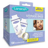 Lansinoh Breastmilk Storage Bags 100 Count BPA Free and BPS Free (Packaging M... - Chickadee Solutions - 1