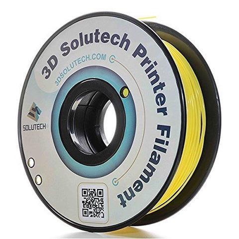 3D Solutech Real Yellow 1.75mm PLA 3D Printer Filament 2.2 LBS (1.0KG) - 100%... - Chickadee Solutions - 1