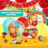 Daniel Tiger's Neighborhood Party Supplies - Complete Party Kit for 16 - Chickadee Solutions