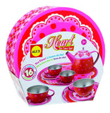 ALEX Toys Heart Tin Tea Set - Chickadee Solutions - 1