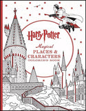 Harry Potter Magical Places & Characters Coloring Book - Chickadee Solutions