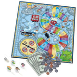 Learning Resources - Money Bags Coin Value - Educational Board Game - Chickadee Solutions - 1