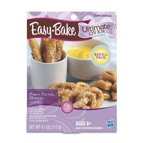 Easy-Bake Ultimate Oven Party Pretzels Refill Pack 4.1 oz - Chickadee Solutions