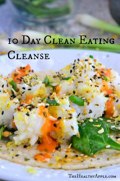 10-Day-Clean-Eating-Cleanse Thehealthyapple